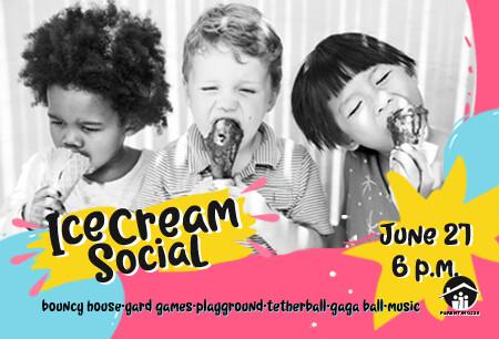 Ice Cream Social Invite 2019