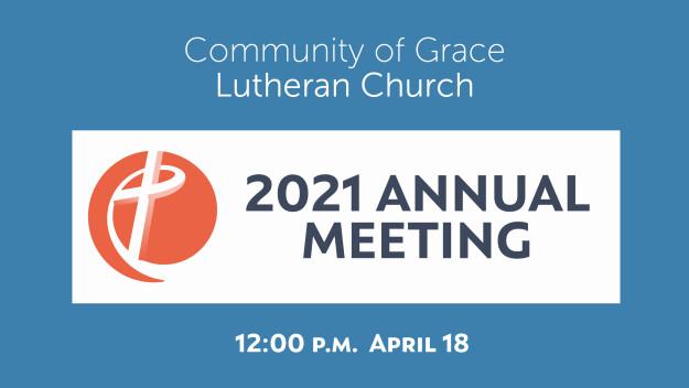 2021 Annual Meeting
